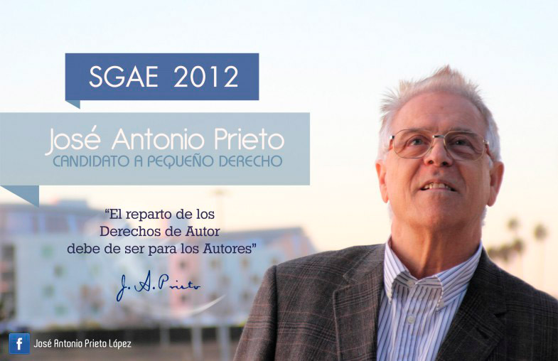 Flyer Jose Antonio Prieto SGAE